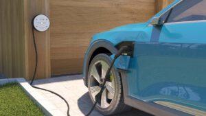 EVB Stromat - bei jedem Wetter das Auto laden.